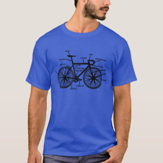 Bike Anatomy Funny Geek Geeks T-Shirt