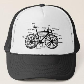 Bike Anatomy Funny Geek Geeks T-Shirt Trucker Hat
