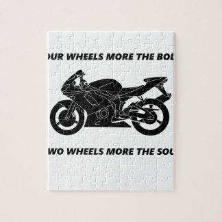 Bike and body soul puzzles
