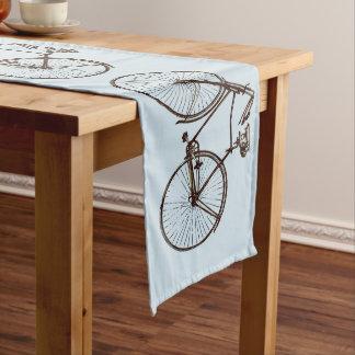 bike bicycle bike table runner brown  blue