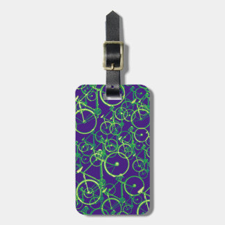 bike , bicycle ; biking / cycling luggage tag