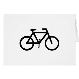 Bike Bicycle Cyclist Biker Card