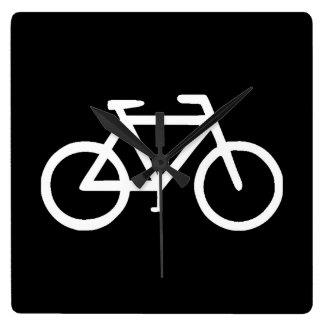 Bike Bicycle Cyclist Biker Clocks