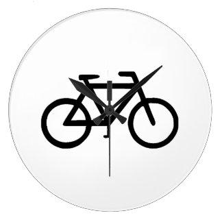 Bike Bicycle Cyclist Biker Wall Clock
