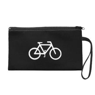 Bike Bicycle Cyclist Biker Wristlet Purse