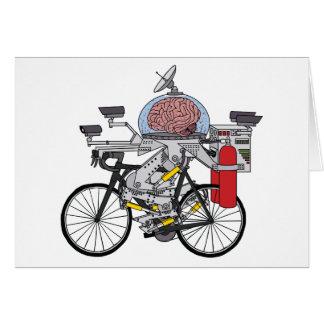 Bike Brain (cyclist of the year 3000) Card