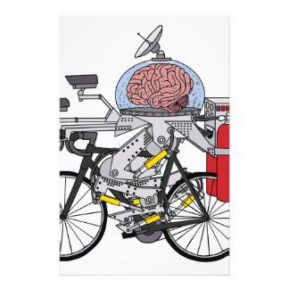 Bike Brain (cyclist of the year 3000) Stationery