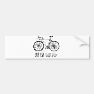 Bike Bumper Sticker Ceci N est Pas Un Vélo
