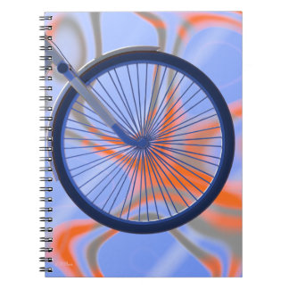 Bike Cycle - Bicycle Wheel Notebook