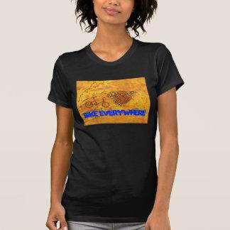 Bike Everywhere T-shirts