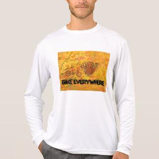 Bike Everywhere T Shirts