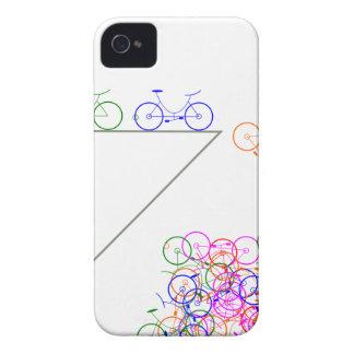 Bike falling off has cliff Case-Mate iPhone 4 case