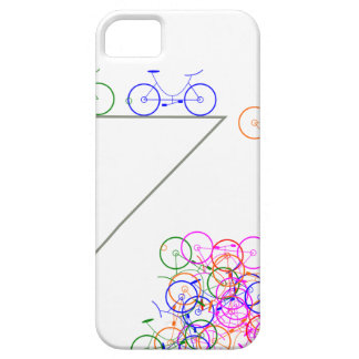 Bike falling off has cliff iPhone 5 cover