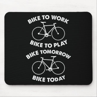 Bike Forever - Cool Cycling Mouse Pad