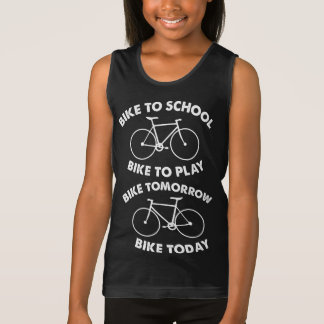 Bike Forever - Cool Cycling Singlet