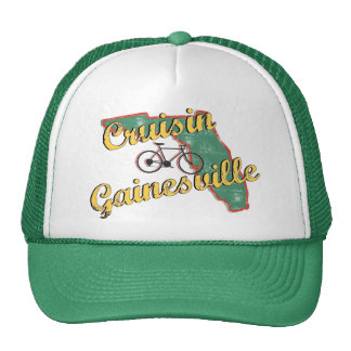 Bike Gainesville Bicycle Florida Mesh Hat