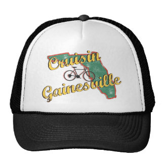 Bike Gainesville Bicycle Florida Mesh Hats