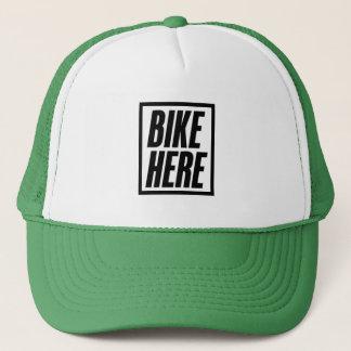 Bike Here Trucker Hat
