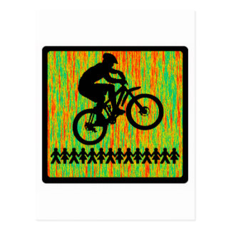 Bike Hot Seat Postcard