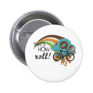 Bike How I Roll Button
