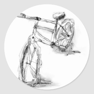 Bike II Classic Round Sticker