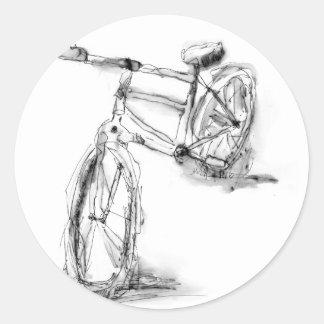 Bike II Round Sticker