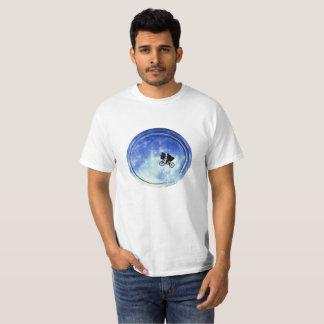 Bike in moon Mens T-Shirt