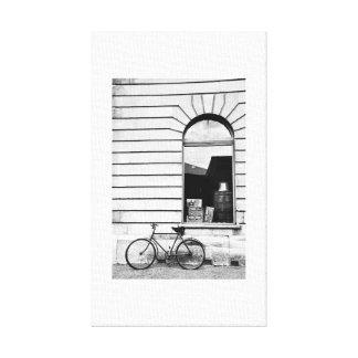 Bike in Oamaru Canvas Print