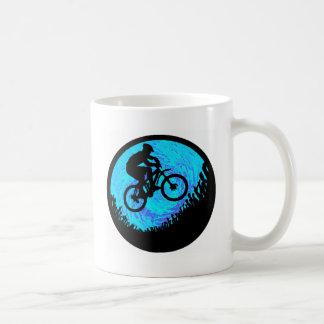 Bike Into Orbit Basic White Mug