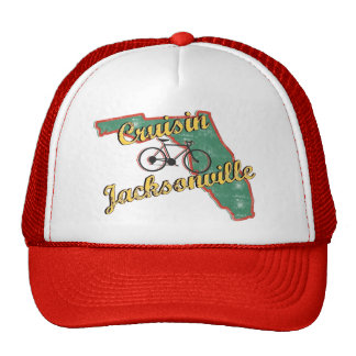 Bike Jacksonville Bicycle Florida Mesh Hat