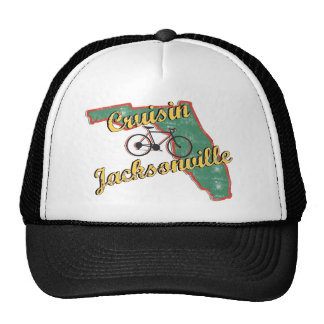 Bike Jacksonville Bicycle Florida Mesh Hats
