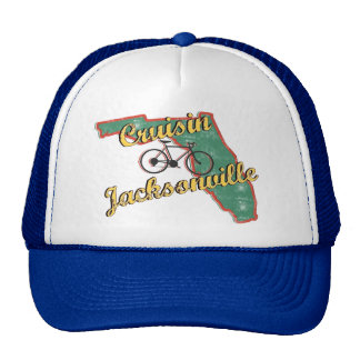 Bike Jacksonville Bicycle Florida Trucker Hat