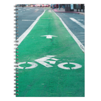 BIKE LANE NOTEBOOK