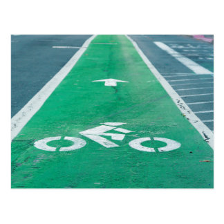 BIKE LANE POSTCARD