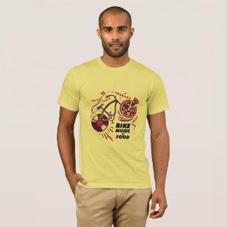 Bike Music and Food T-Shirt