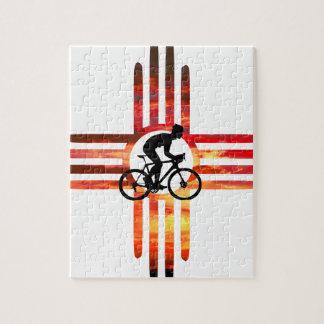 Bike New Mexico Jigsaw Puzzle