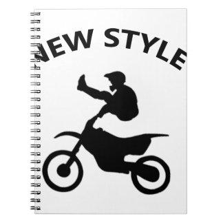 Bike new style notebook