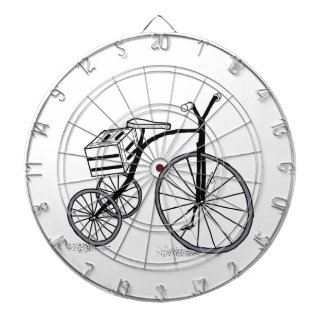 Bike on 3 wheels dartboard