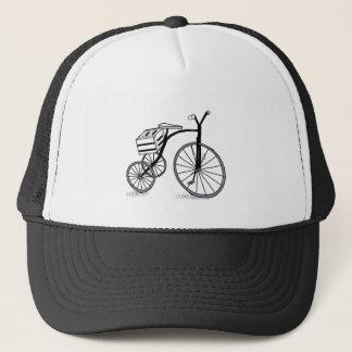 Bike on 3 wheels trucker hat