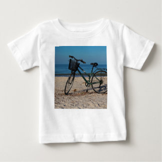 Bike on Barefoot Beach II Baby T-Shirt