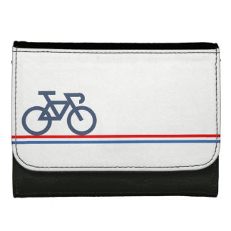 Bike on Netherlands-inspired Flag Lines Wallet