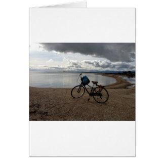 Bike on the Beach Card