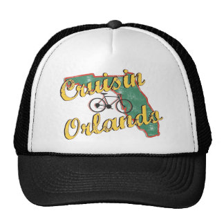 Bike Orlando Bicycle Florida Hat