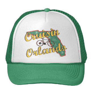 Bike Orlando Bicycle Florida Hats