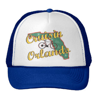 Bike Orlando Bicycle Florida Mesh Hats