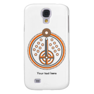 Bike Parts Roundel Pattern Galaxy S4 Cover