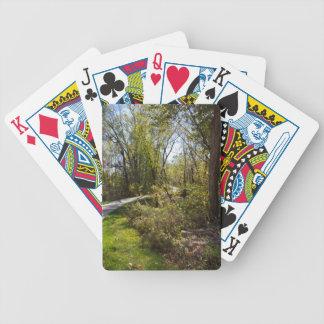 Bike Path in Iowa Photo Bicycle Brand Playing Card Bicycle Playing Cards