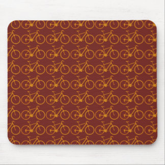 bike pattern for cyclists mouse pad