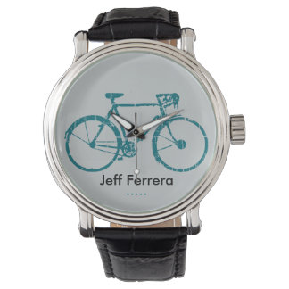 Bike personalized with name watches