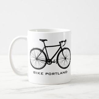 Bike Portland Mug - Single Speed